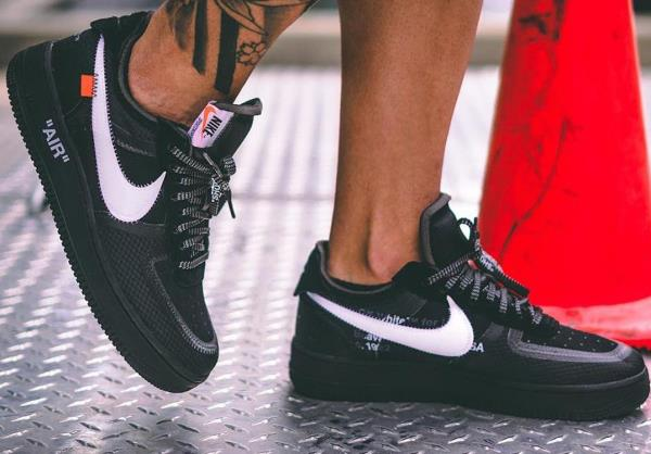 exclusive deals the best attitude pre order NIKE Air Force 1 Low Off-White Black White Size 8 9 10 11 12 Mens ...