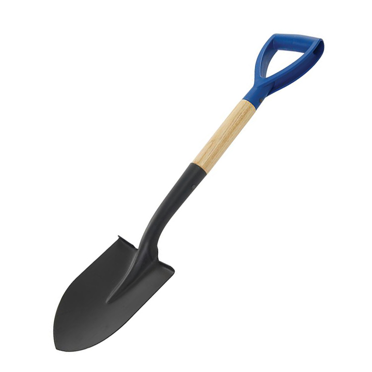 282518 Silverline Lightweight 700mm Wooden Square Head Micro Shovel MYD Handle