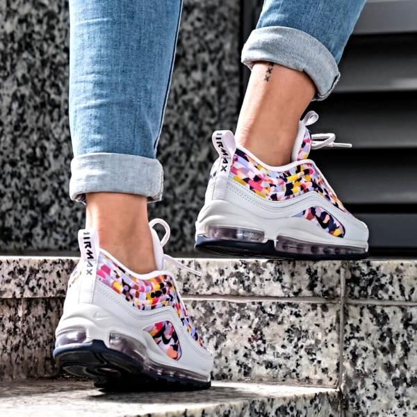 Details about Nike Air Max 97 UL '17 PRM Sneakers Obsidian Elemental Rose Size 6 7 8 9 Womens