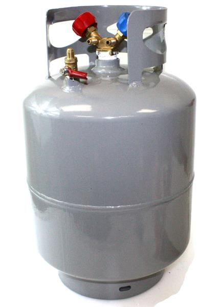 Y-Valve Flame King Refrigerant Recovery Cylinder Tank Reusable DOT Compliant