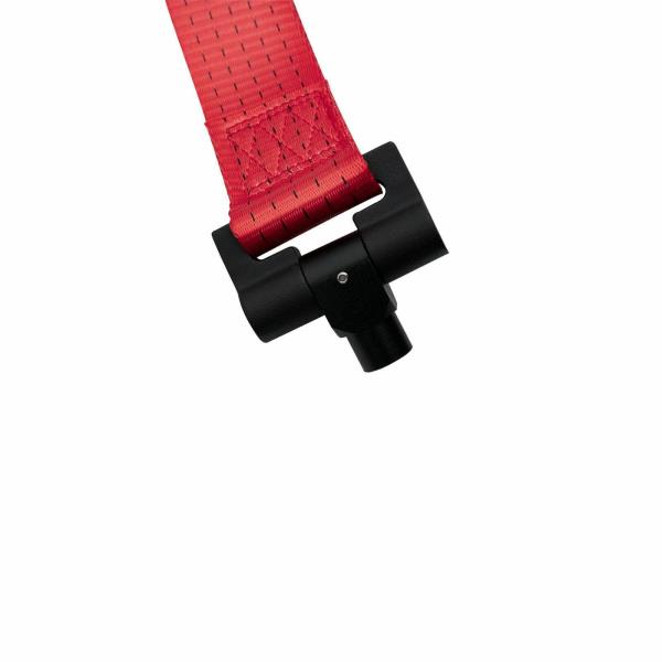 Red Front Bumper Sport Racing Style Towing Strap Tow Hook
