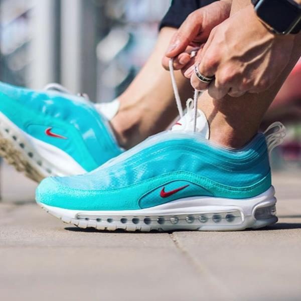 Details about Nike Air Max 97 Shanghai Kaleidoscope Air Blue Size 8 12 Mens Shoes CI1508 400
