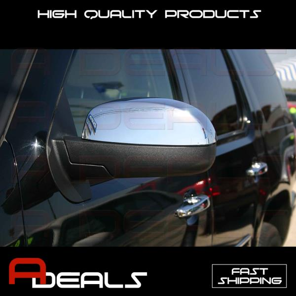 Chrome Cover Full Mirror /& 2 Door Handle W//O P K For CHEVY Silverado 07-11 12 13