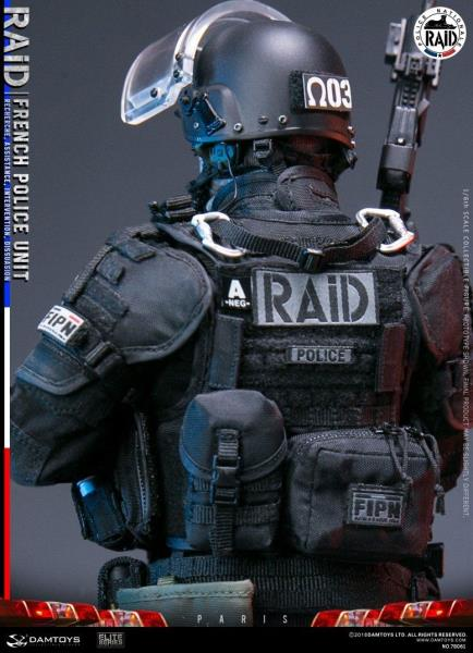 GL06 Grenade Launcher #1-1//6 Scale Damtoys Figures French Police Unit RAID