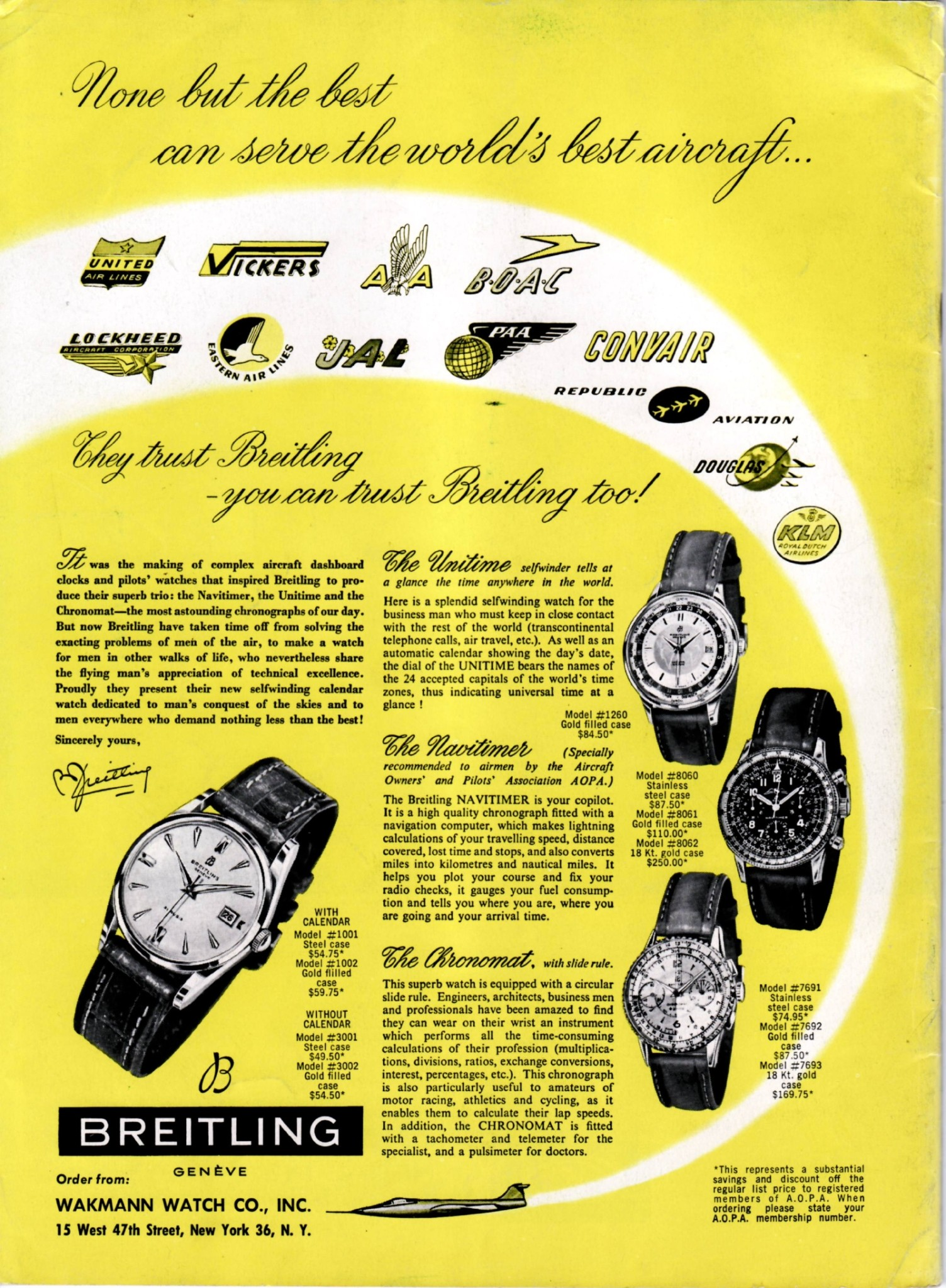 ExpertsWatches.com Breitling Navitimer AD
