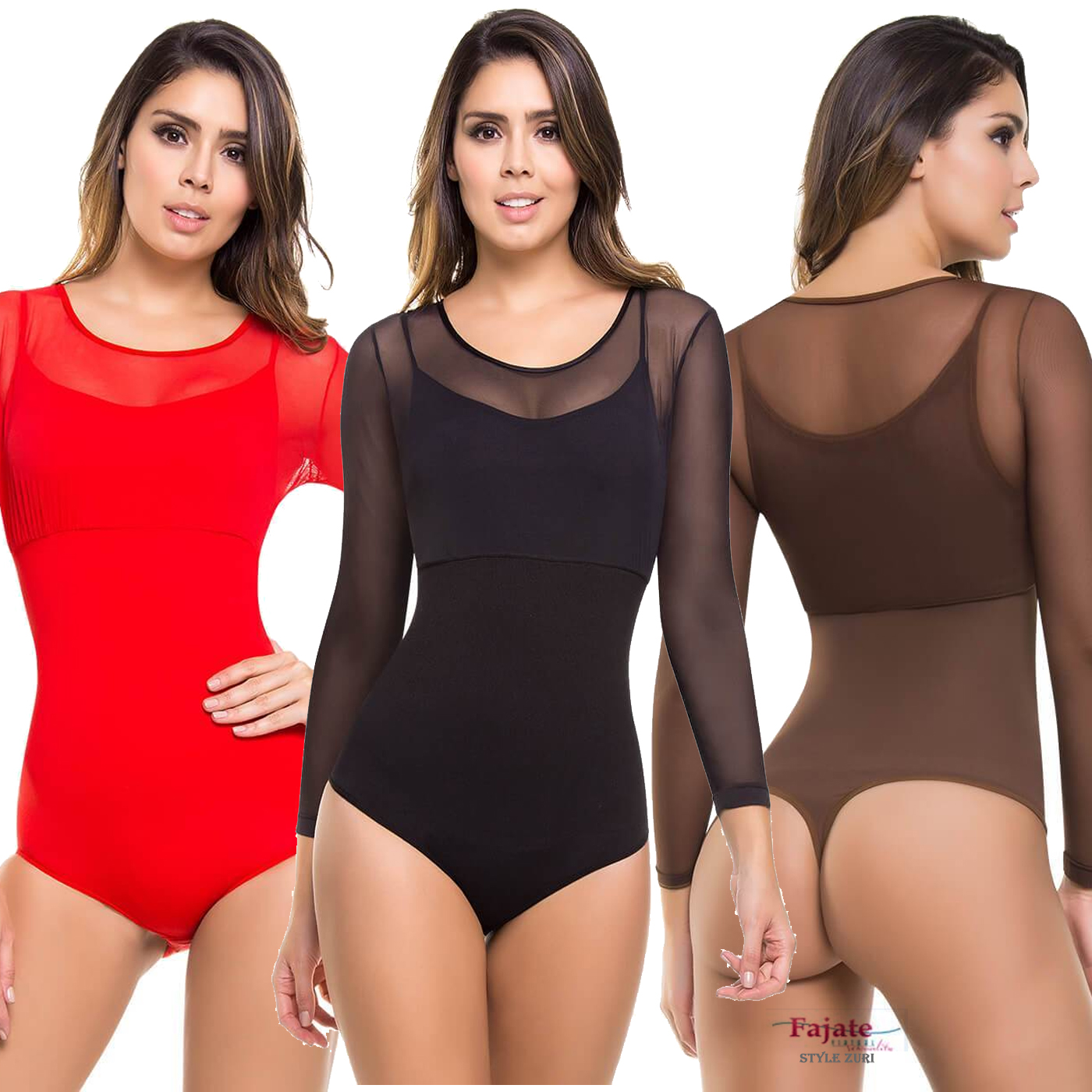 Colombiana Body Suit Control Fajas Waist Shaper Thong Panty Tummy Slimming New