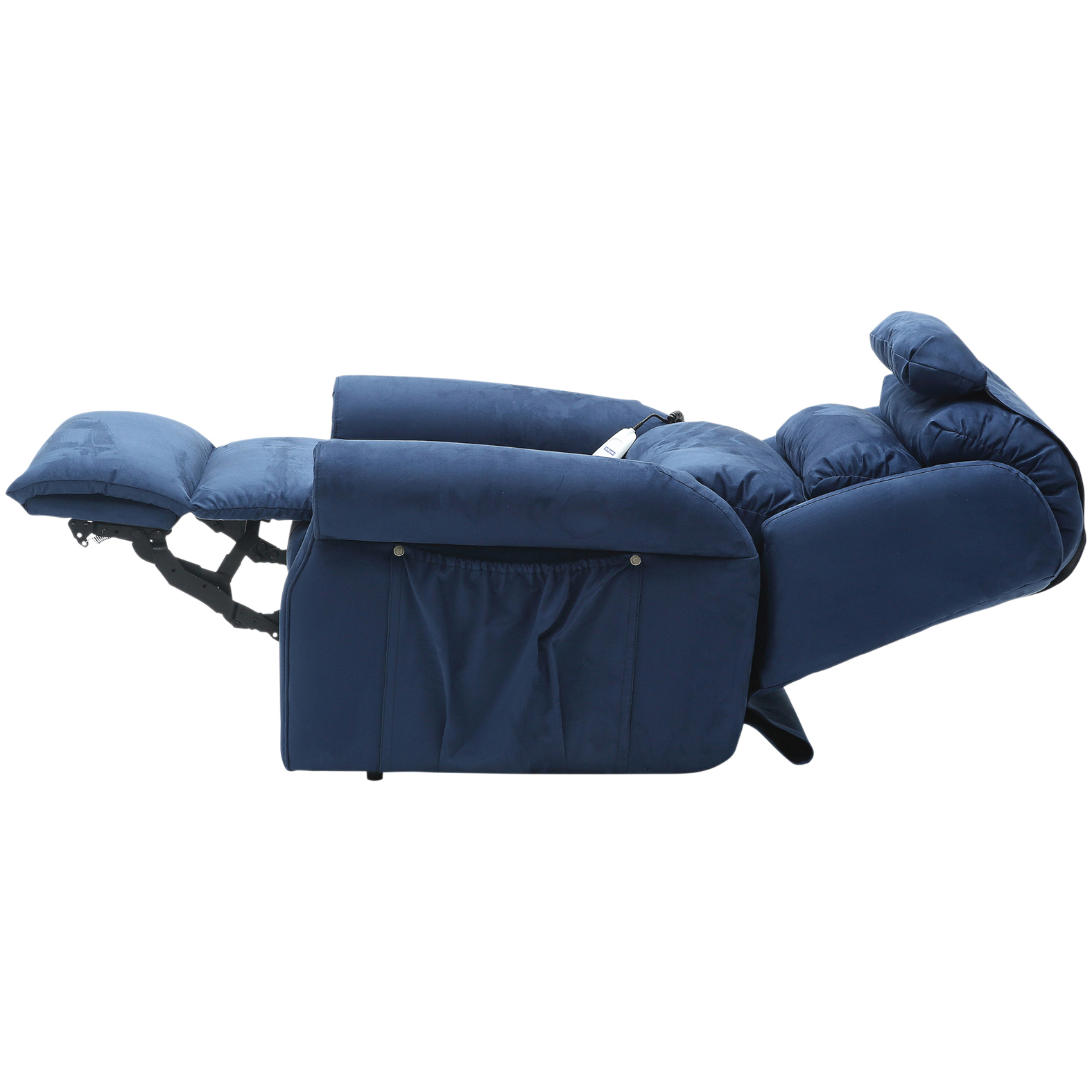 Details about Sandfield Dual Motor Fabric Riser Recliner Chair 160kg Weight Capacity