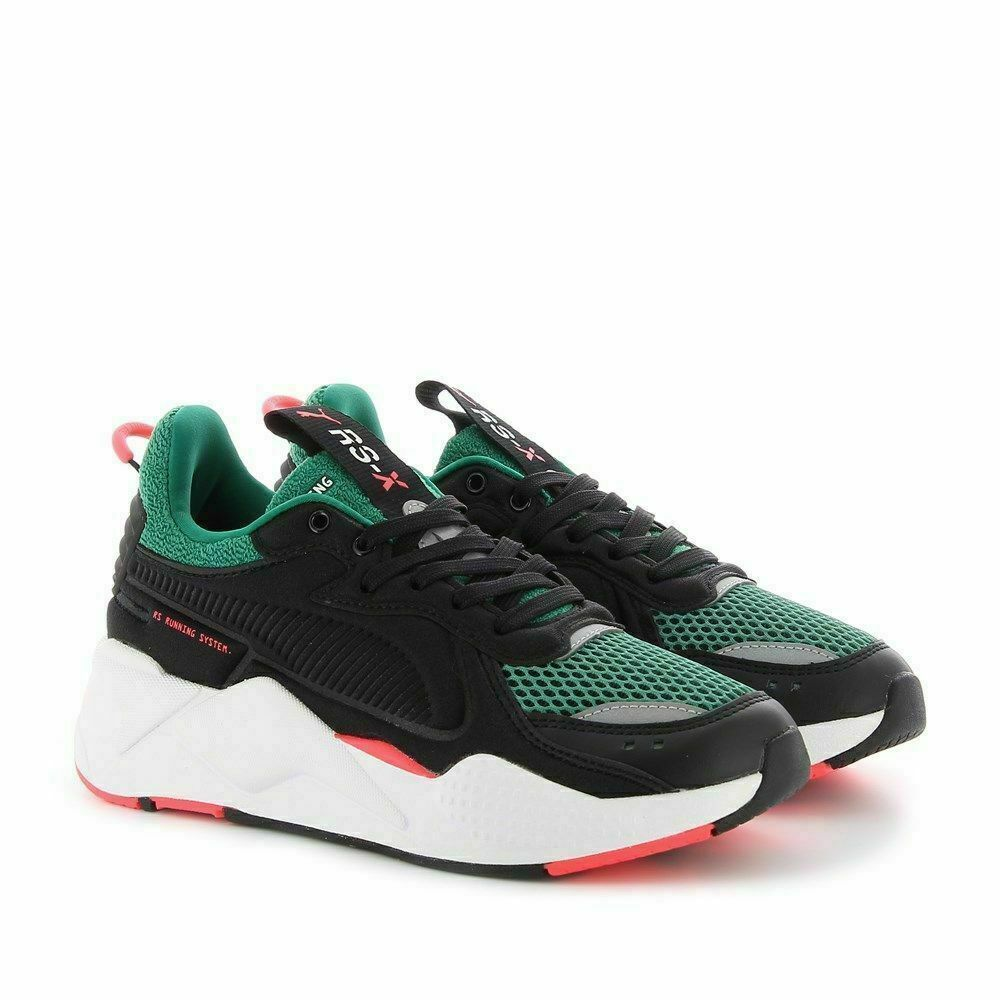 Details about Puma RS-X Softcase Black Green Men Lifestyle Sneakers running  New Shoe 369819-06