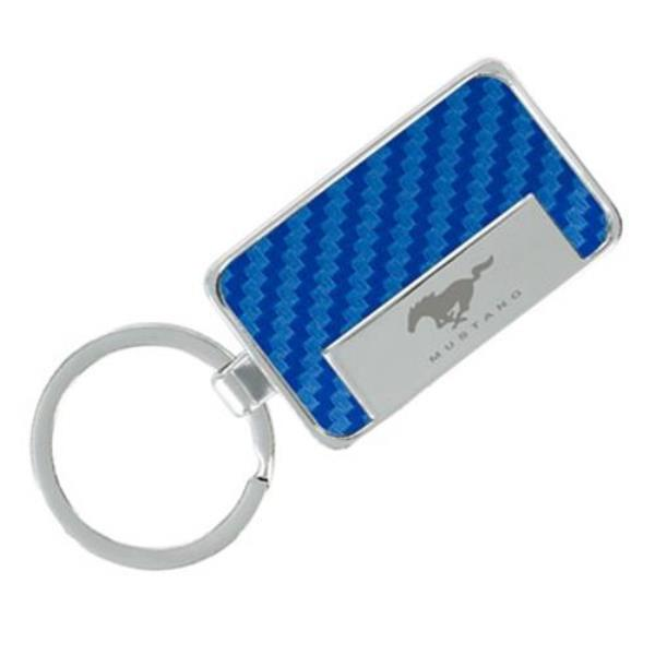 EXCLUSIVE! Mustang Buckle Keychain ~ Colors ~ Unique Key Chain for Ford Fans