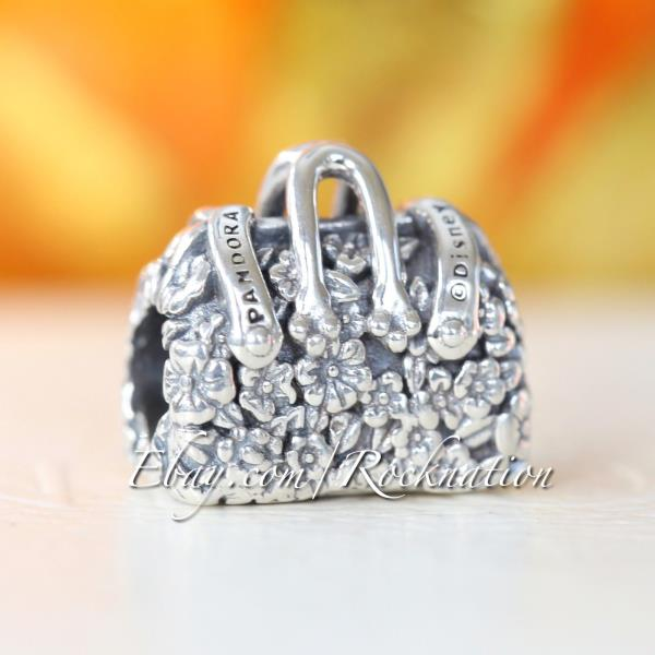 Details about Authentic Mary Poppins Carpet Bag Charm PANDORA Sterling  Silver 797506