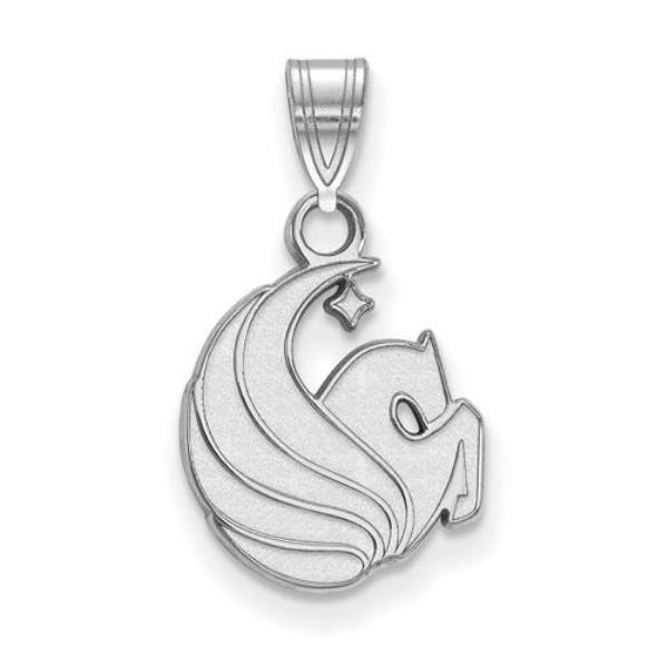 Sterling Silver University of Central Florida Small Pendant by LogoArt SS026UCF