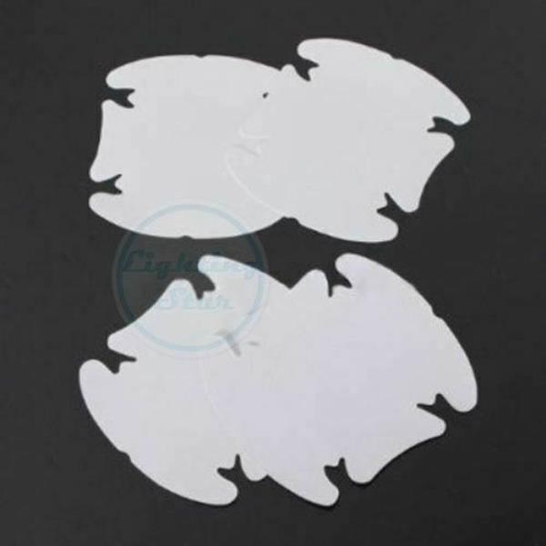 4x Sheets Clear Adhesive Car Door Handle Paint Protector