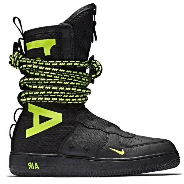Details about Nike SF Air Force 1 Boot Slime Black Size 7 8 9 10 11 12 13 Men Shoes AA1128 003