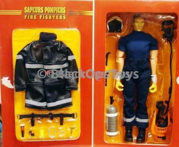 Urban Firefighter Oxygen Tank and Mask Set 1//6th Scale Action Figure Toys