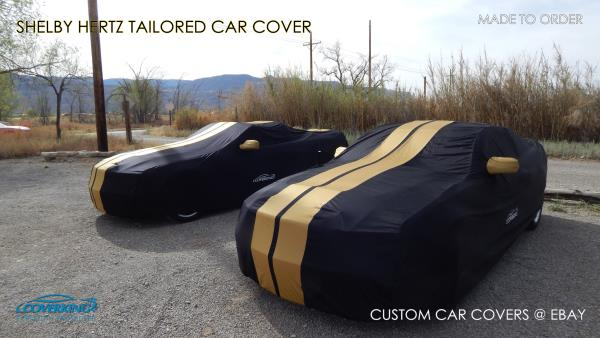 Premium Satin Stretch Indoor Tailored Car Cover for Shelby Cobra Made to Order