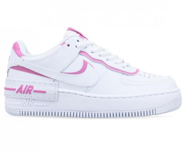 Details about Nike Wmns Air Force 1 *SHADOW FLAMINGO* White Womens Shoes