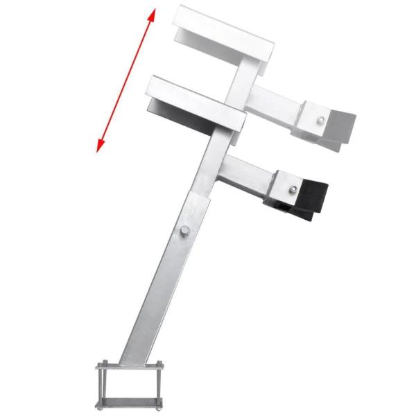 Adjustable Boat Trailer Winch Stand with a Capacity of 1100-2200 pounds M3D1