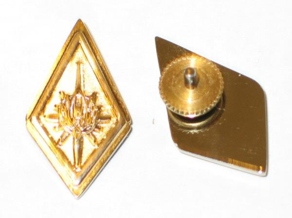 2 New Battlestar Galactica Crew Master Chief Petty Officer Collar Pips Deluxe