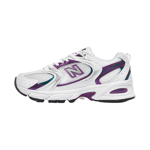 Details about [New Balance] 530 Running Shoes Sneakers -  White/Purple(MR530SF)