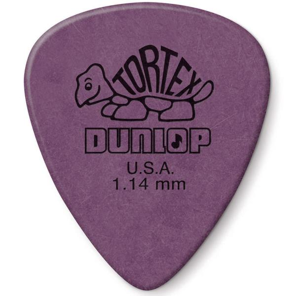 12//Player Pack New Dunlop 449P1.14 Max-Grip Nylon Standard 1.14mm Guitar Picks