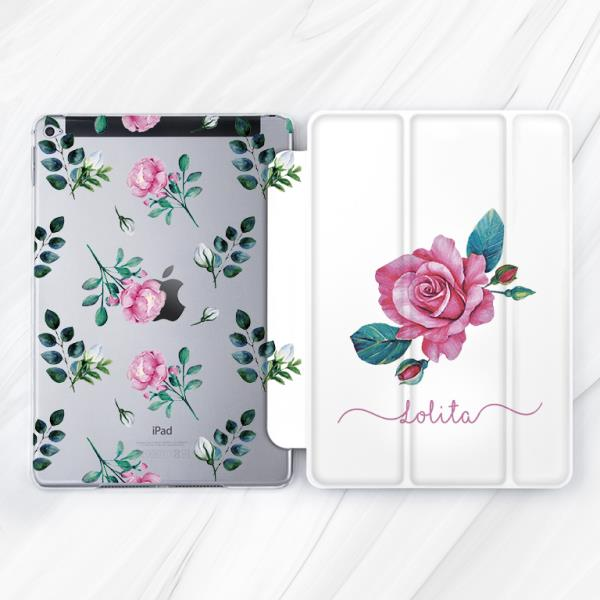 Spring Floral Case Smart Cover Magnetic iPad Pro 10.5 Mini 2 3 4 Pro 12.9 Air 2