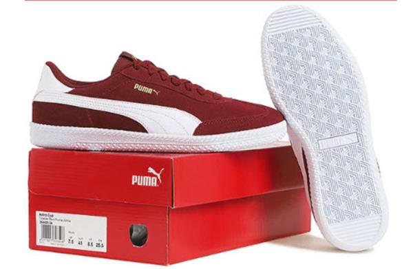 Puma Women ASTRO CUP Shoes Red Athletic