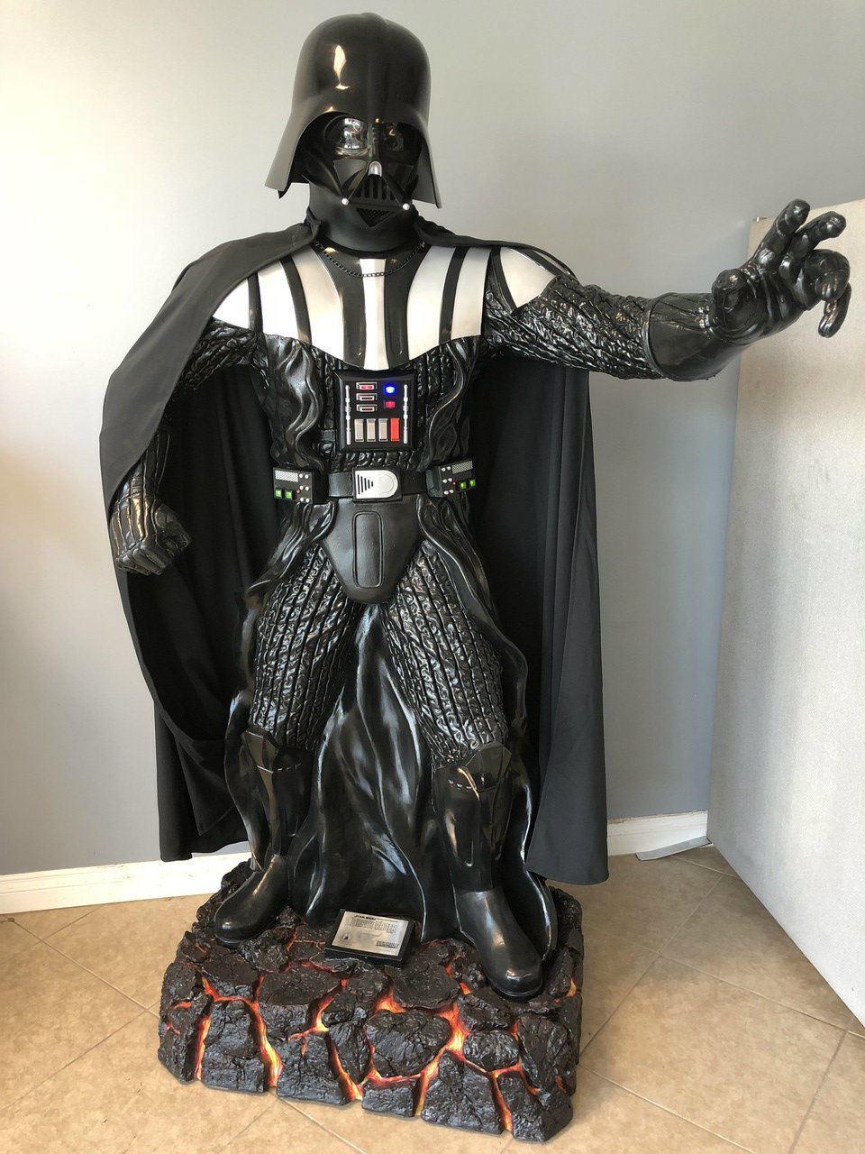 Star Wars Darth Vader Anakin Skywalker Life Size Statue Light Up Ebay