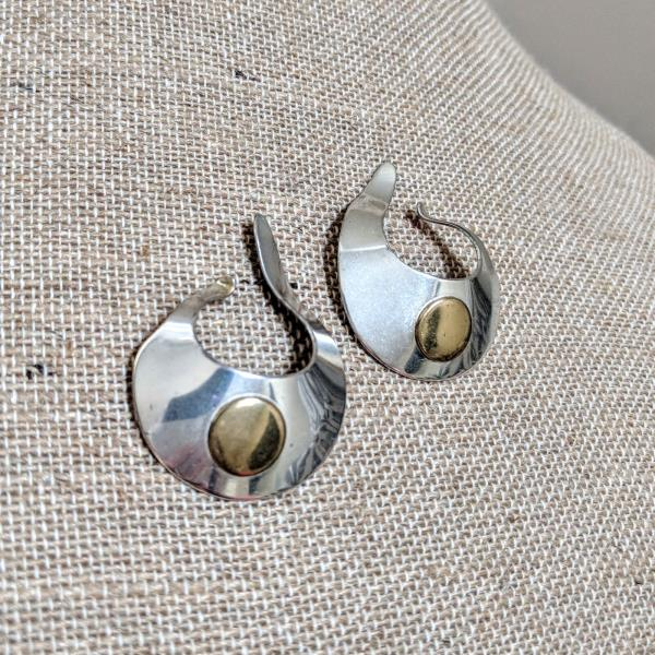 Rolf andrea ludding wrap earrings sterling silver