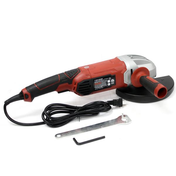 """7/"""" Angle Grinder 11 Amp Heavy Duty Grinding Shaping Sanding 8000RPM"""