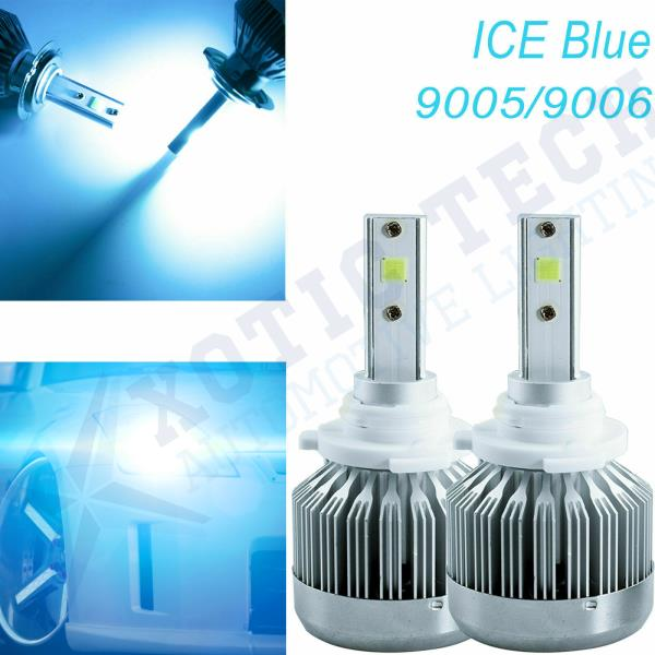 Fit Honda Acura Error Free 9005 9006 Ice Blue High Beam