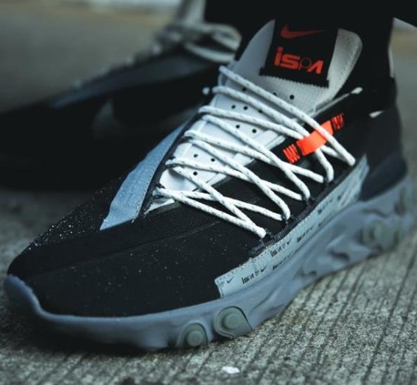 Details about Nike React Wr Ispa Black Size 8 9 10 11 12 Mens Shoes  Ar8555,001
