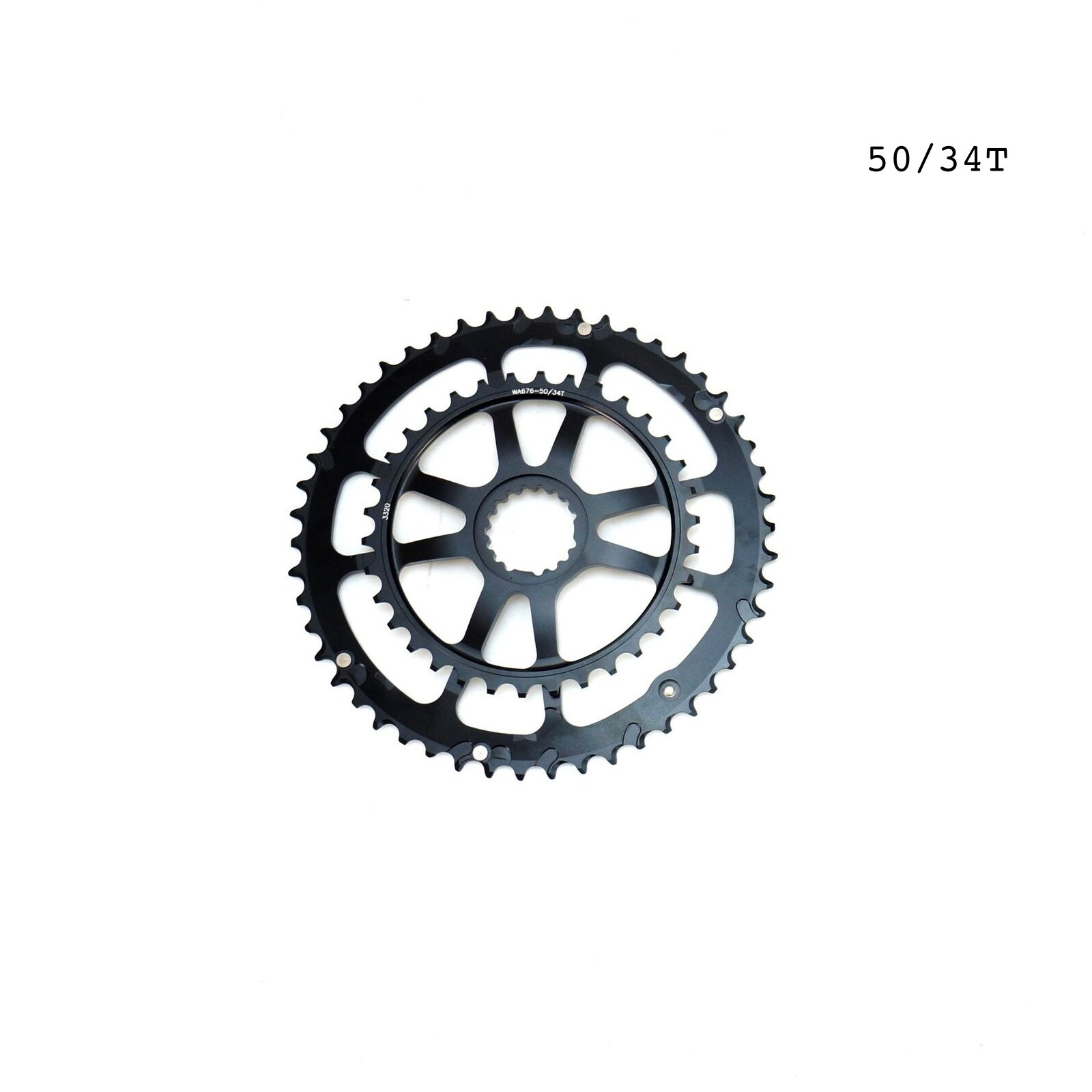 2020 Cannondale Hollowgram Si Road Bike Spidering Chainring  8 Arm 50//34T