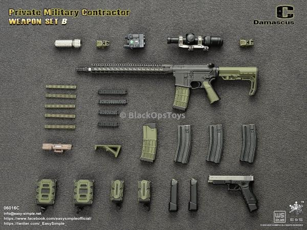PMC Weapon Set A-Comme neuf in box