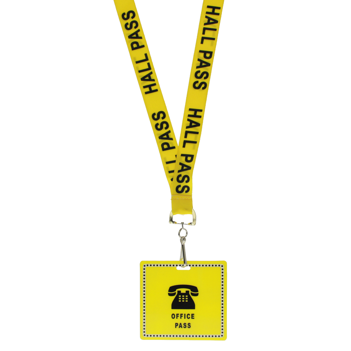 6 pk UNBREAKABLE School Hall Passes with Safety Breakaway Lanyards for Students