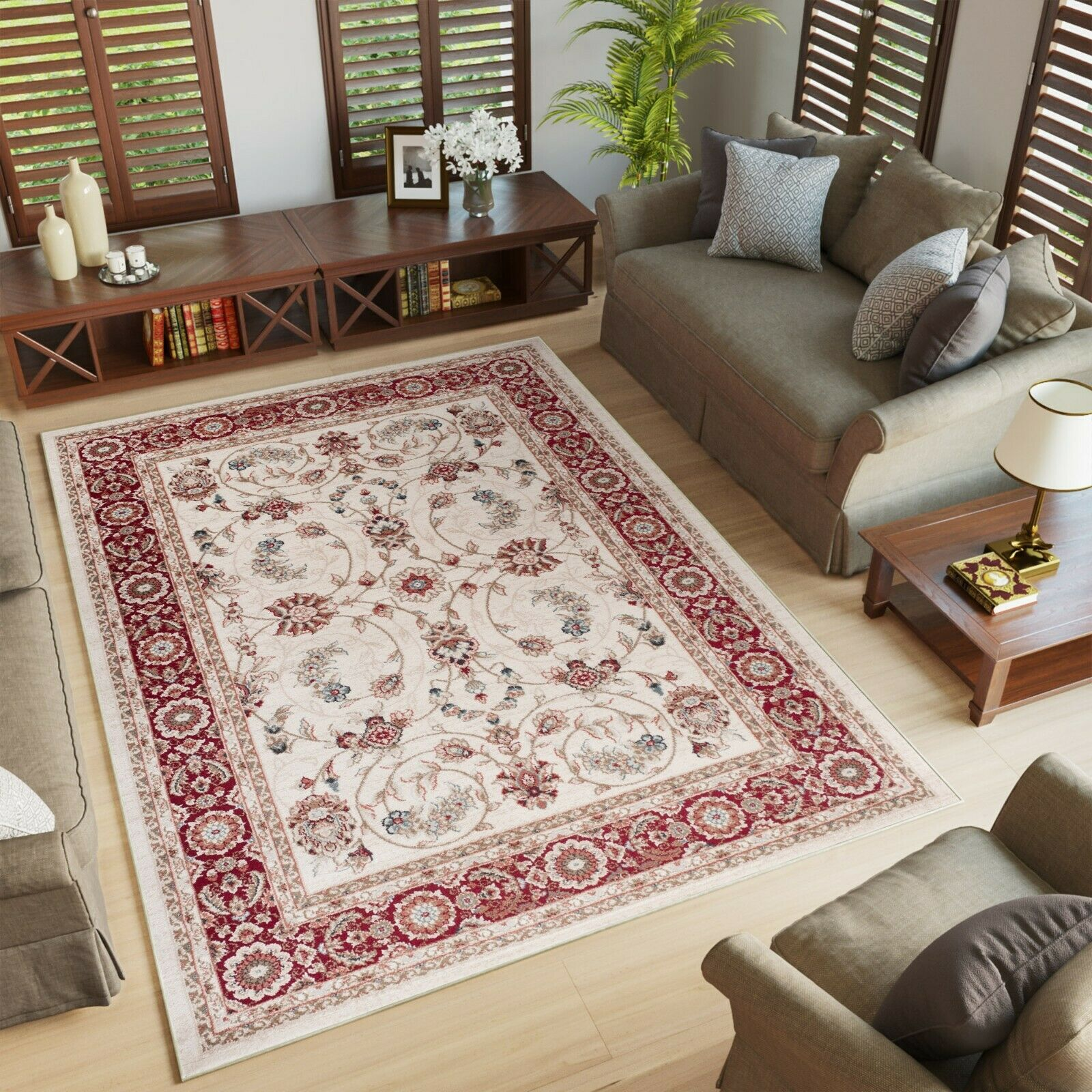 Rugs Carpets Small Medium Extra Large Beige White Rug Classical Pattern Quality Soft Rugs Medicareresources Org