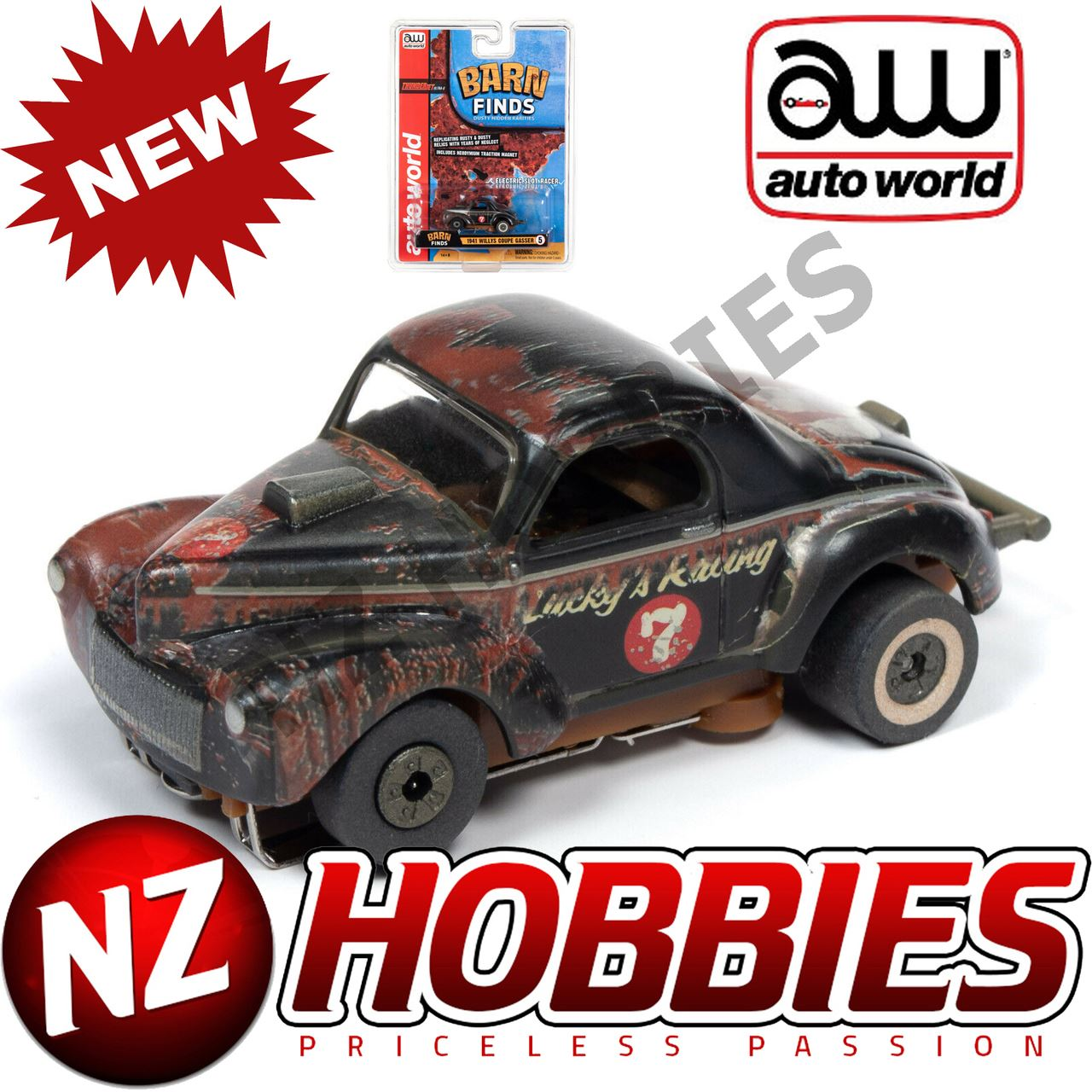 AUTO WORLD SC345 BARN FINDS 1941 WILLYS GASSER THUNDERJETS ...