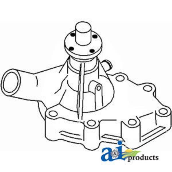 New Complete Tractor Water Pump For Massey Ferguson 1030L Compact Tractor 210-4