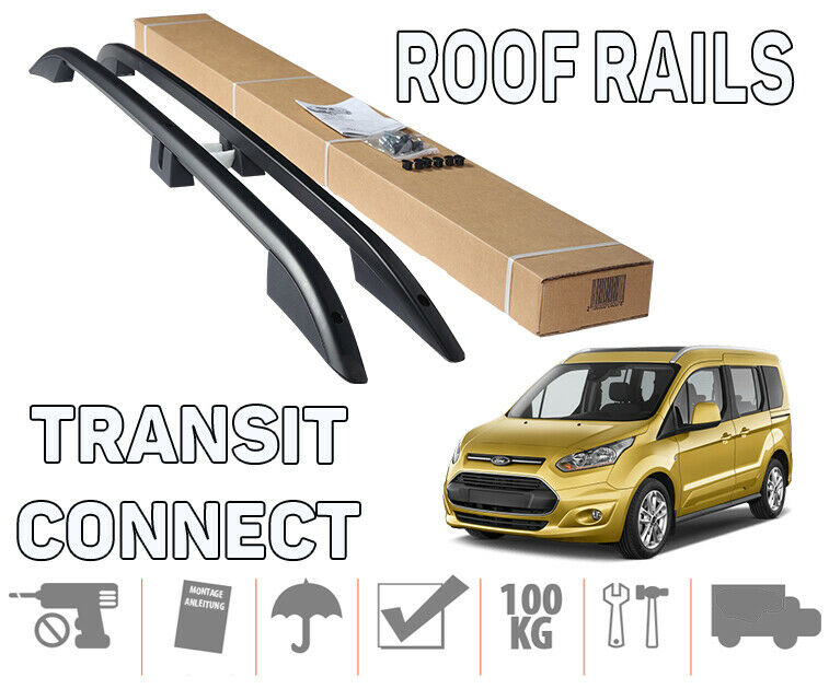 CAR ROOF RACK BARS FORD CONNECT S-MAX TOURENO CONNECT