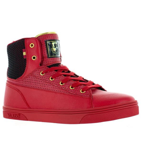 Jazz High Top Shoes Red/Black IG-8100-5