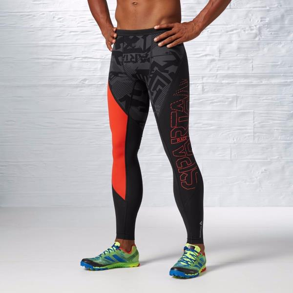 Details about New Men's REEBOK Crossfit Spartan Compression Running Tights B83860 MSRP $90