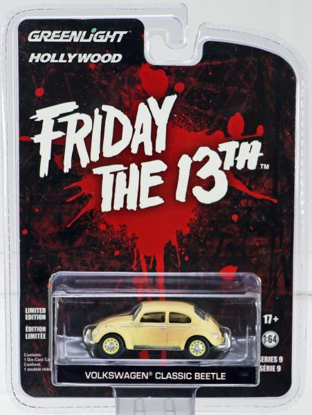 """1963 VOLKSWAGEN BEETLE /""""FRIDAY THE 13TH PART III/"""" 1//64 BY GREENLIGHT 44690 D"""