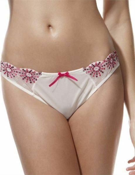 Clearance....Panache Erin 6069 Ivory Thong Sizes 8-18