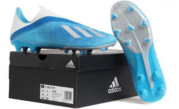 Details about Adidas Men X 19.3 LL FG Cleats Football Blue Silver Soccer  Boots Spike EF0598