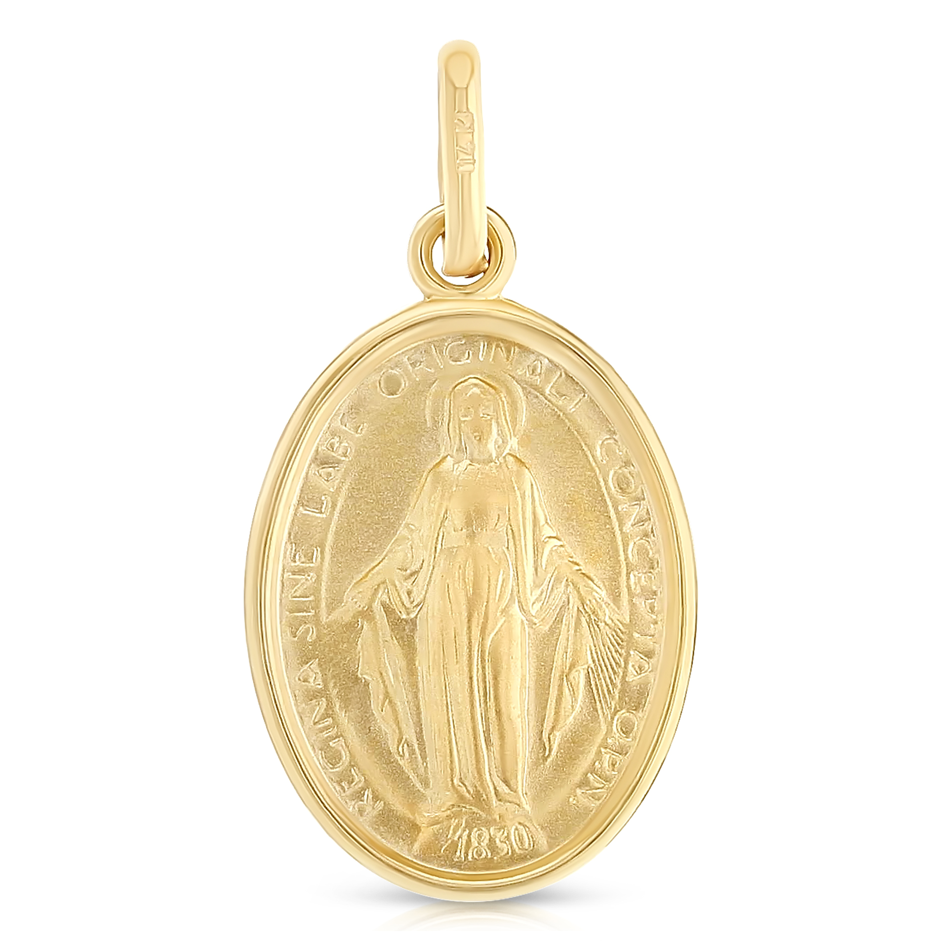 14k Yellow White Gold Religious Guadalupe Pendant More