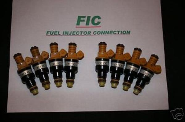 Set of  8 FIC 19lb Fuel Injectors ford Ford Mustang 5.0