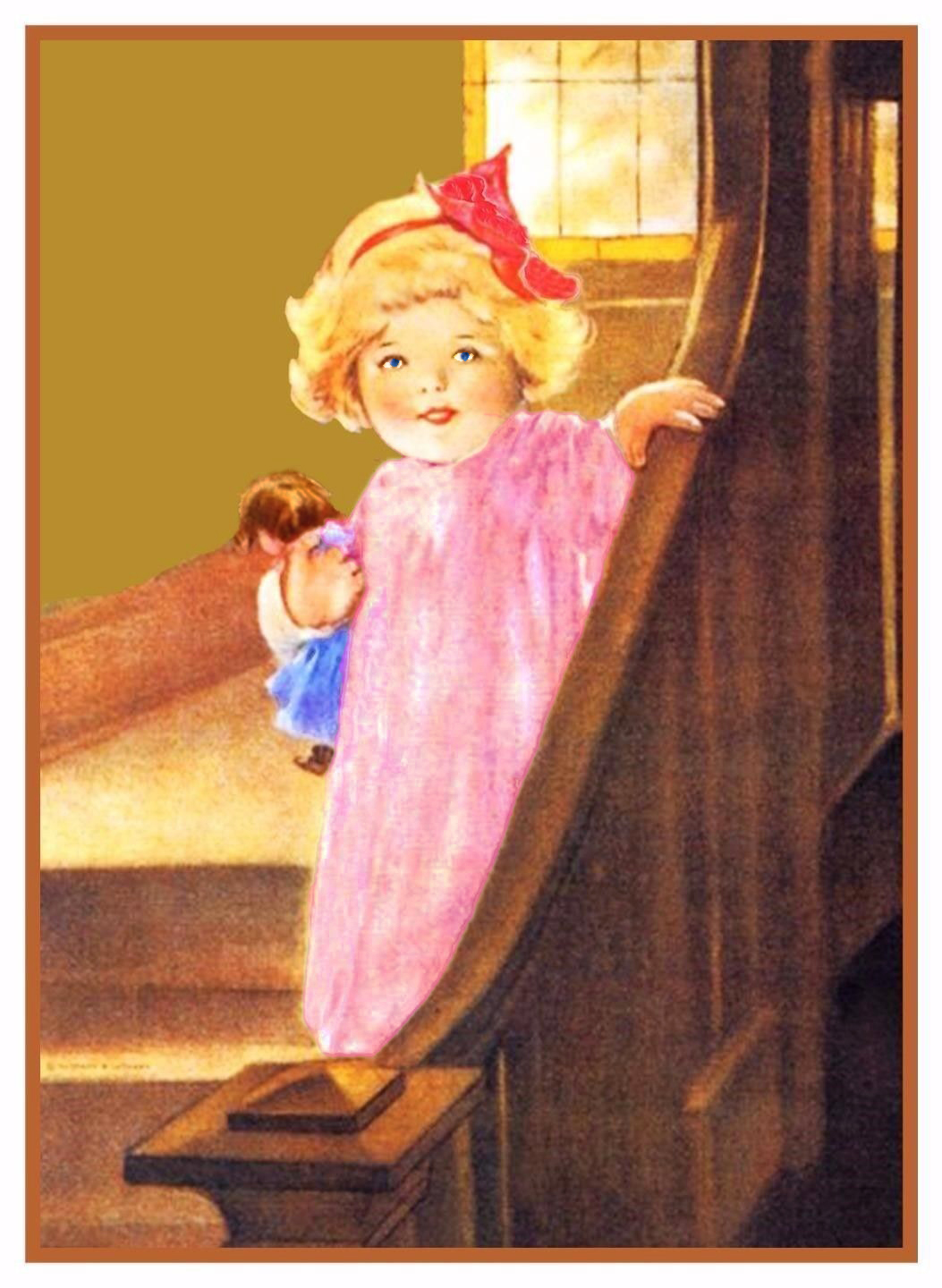 Bessie Pease Gutmann/'s Nitey Nite Peter and Jake Counted Cross Stitch Pattern