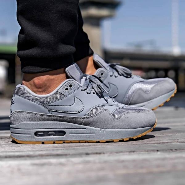 for whole family differently where can i buy Details about Nike Air Max 1 Sneakers Cool Grey Size 8 9 10 11 12 Mens  Shoes New