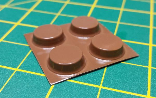 Amiga Retro Brown Replacement FeetNEWSelf Adhesive Vic 20 Commodore 64