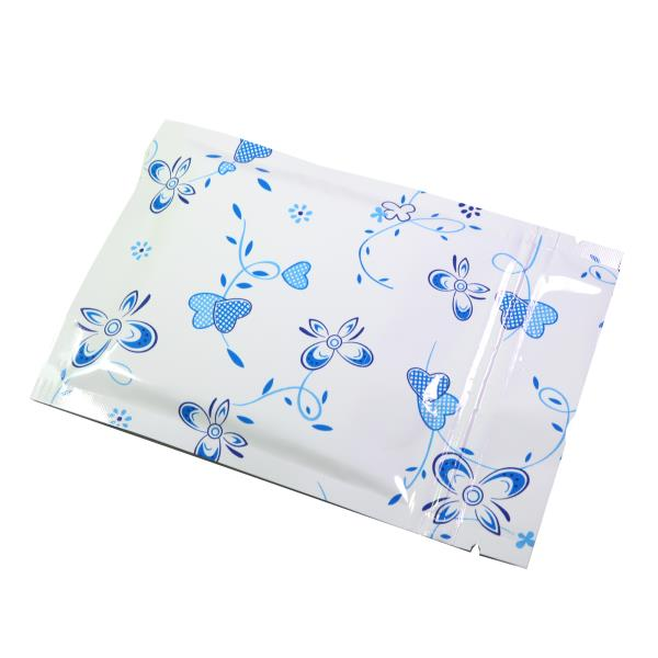 Details about  /100 Flat Glossy Yellow Flower Design Metallized Mylar Zipper Bags Various Sizes