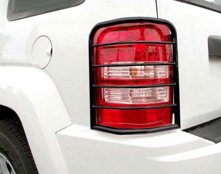 Black Horse Off Road 7BZH011SS Black Tail Light Guards